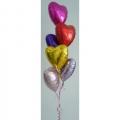 BB0010-Hearts Balloons