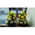 QF0018-Side altar flower arrangement