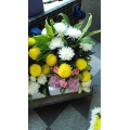 QF0030-altar side flower arrangement