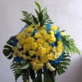QF0547-QF0547-funeral flower wreath