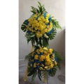 QF0548-funeral flower wreath