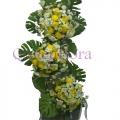 QF0853-wreath 3tier arrangement
