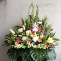 QF1002-funeral flowers stand