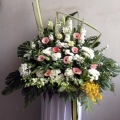 QF1006-funeral flowers delivery