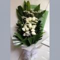 QF1010-coffin bouquet