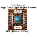 B32-52-tiger funeral blanket funeral comforter