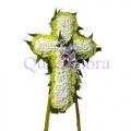 QFFS27-funeral flower cross wreath